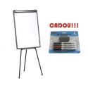 FLIPCHART MAGNETIC START 70x100 cm + CADOU!!! (SET 4 MARKER WHITEBOARD + BURETE)