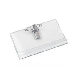 ECUSON ORIZONTAL CU AC SI CLIPS 92x57 mm, 100 buc/set