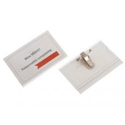 ECUSON CU AC SI CLIPS 90x55 mm, 50 buc/set