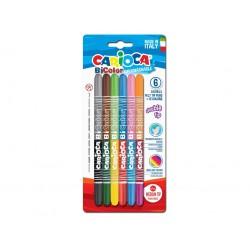 Carioca Bi-Color 6/set