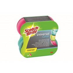 Burete ergonomic Confort Delicat colors Scotch-Brite™ 2 buc/set