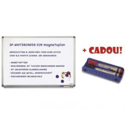 TABLA MAGNETICA MAGNETOPLAN 90x60 cm + CADOU!!! (Burete magnetic + 2 markere)