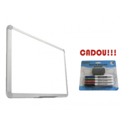 TABLA MAGNETICA SMART 150X120 cm (calitate Premium 3 ani garantie)+CADOU! (Set 4 markere+burete)