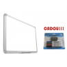 TABLA MAGNETICA SMART 180X120 cm + CADOU!!! (SET 4 MARKER WHITEBOARD + BURETE)