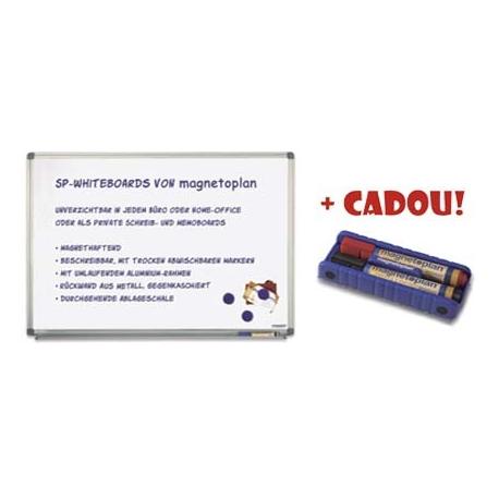 TABLA MAGNETICA MAGNETOPLAN 180x120 cm + CADOU!!! (Burete magnetic + 2 markere)