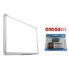TABLA MAGNETICA SMART 240X120 cm + CADOU!!! (SET 4 MARKER WHITEBOARD + BURETE)