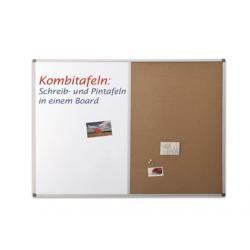 COMBI BOARD 90X120 cm, whiteboard/pluta, 1240470 MAGNETOPLAN