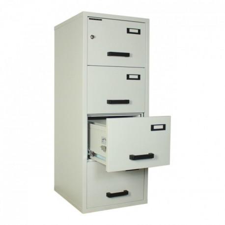CLASIFICATOR METALIC IGNIFUG (ANTIFOC) CU 4 SERTARE 545x653x1500 mm (LxlxH)