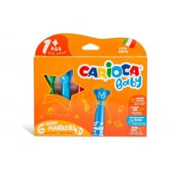 Carioca Baby Marker 1+ 6/set, 24 buc