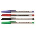 Pix fara mecanismFibracolor Hi-Text 660, corp plastic, transparent, varf 1.0 mm, capac in culoarea s