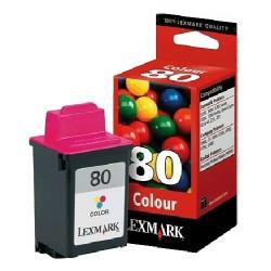 80Cartus cerneala color Lexmark 5000/5700/7000/7200/C45/Z31/Z1