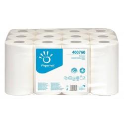 Prosop derulare centrala,alb,2 straturi,76m,portionat, Papernet