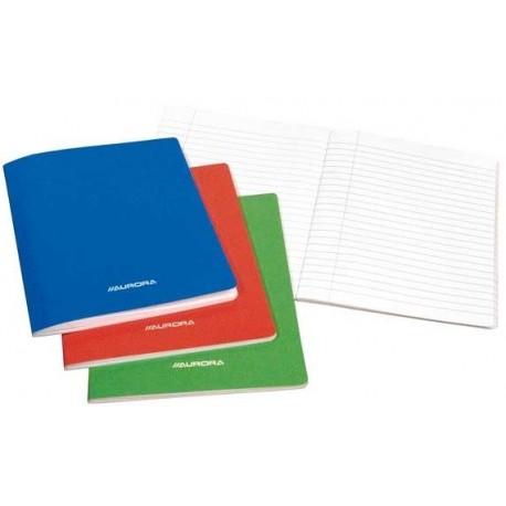 Caiet A4, 60 file - 80g/mp, liniat stanga, coperta carton laminat, AURORA - dictando