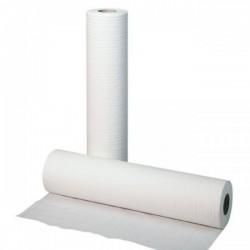 Cearceaf medical alb, 2 straturi, 55cmx80m