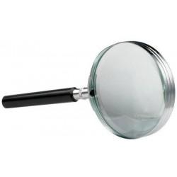 Lupa D75mm, lentila sticla, 3x, ALCO