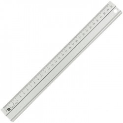 Rigla din aluminiu, 30cm, ALCO