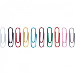 Agrafe colorate 26 mm, 300/cutie, ALCO - asortate