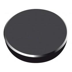 Magneti 38mm, 10/cutie, ALCO - negru