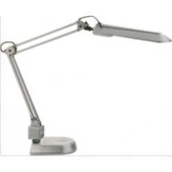 Lampa de birou cu brat flexibil, 11W, ALCO - argintie