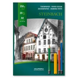 Bloc desen A4, 20 file - 250g/mp, AURORA Steinbach