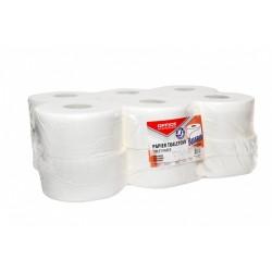 Hartie igienica alba Jumbo,120m, 2 straturi, Office Products