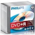 DVD+R 4.7GB Slimcase, 16x, PHILIPS