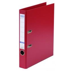 Biblioraft A4, plastifiat PP/PP, margine metalica, 50 mm, ELBA Smart Pro+ - rosu