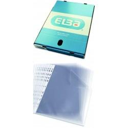 Folie protectie pentru documente, 90 microni, 100folii/cutie, ELBA - cristal