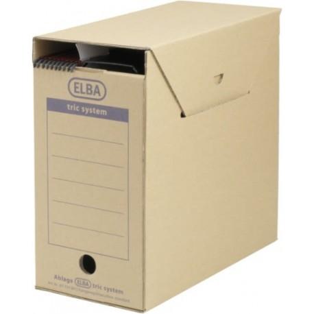 Cutie arhivare dosare suspendabile, 236 x 333 x 308 mm, ELBA Tric Maxi - kraft