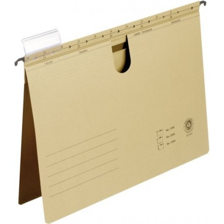 Dosar suspendabil cu sina, bagheta metalica, ELBA 2200 - kraft