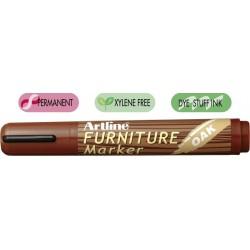 Marker ARTLINE 95, pentru mobilier din lemn (retusuri), corp plastic, varf tesit 2.0-5.0mm - stejar