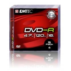DVD-R 4.7GB Jewelcase, 16x, EMTEC