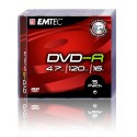 DVD-R 4.7GB Jewelcase, 16x, EMTEC