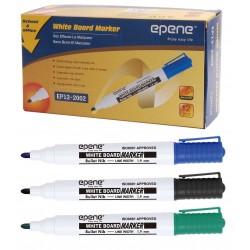Marker pentru table de scris, varf rotund, corp plastic, EPENE - albastru