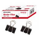 Clip hartie 25mm, 12buc/cutie, EPENE - negru