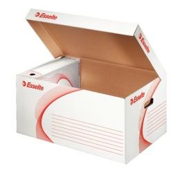 Container arhivare deschidere superioara, ESSELTE - alb
