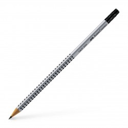 Creion Grafit HB cu radiera Faber-Castell