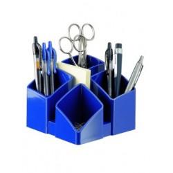 Suport pentru articole de birou, HAN Scala - albastru lucios