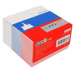 "Cub notes autoadeziv 70 x 70 mm, 400 file, Stick""n Russia - alb"