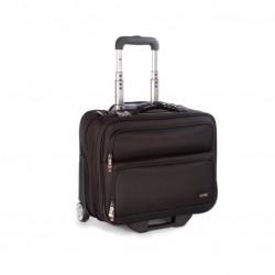 "Geanta troller laptop 15.6"" si tableta 12"", polyester, I-stay Executive - negru"