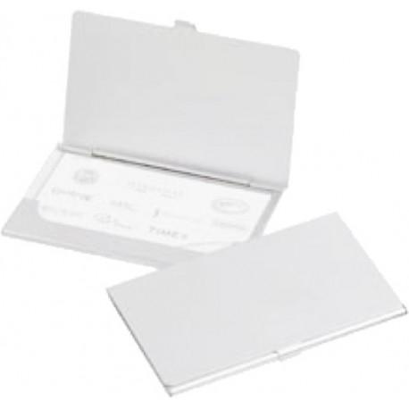 Port carti vizita metalic din aluminiu