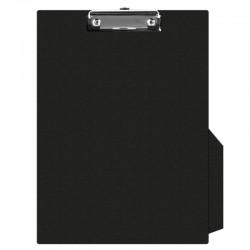 Clipboard simplu A4, plastifiat PVC, Q-Connect - negru