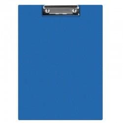 Clipboard dublu A4, plastifiat PVC, Q-Connect - albastru