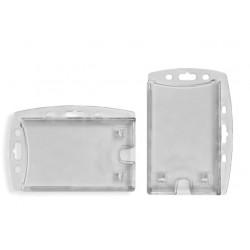 Suport PS, pentru ID carduri, 90 x 55mm, V+H, cu sistem anti-alunecare, 5 buc/set, KEJEA - transp.