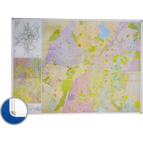 Harta Bucuresti (rutiera),140 x 100 cm,profil RC-SMIT