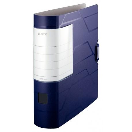 Biblioraft plastic 80mm, LEITZ 180 Active Prestige - albastru