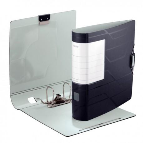 Biblioraft plastic 80mm, LEITZ 180 Active Prestige - negru