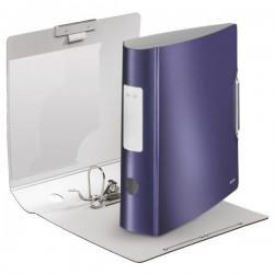Biblioraft LEITZ Active Style 180, 75mm, plasic PP - albastru titan