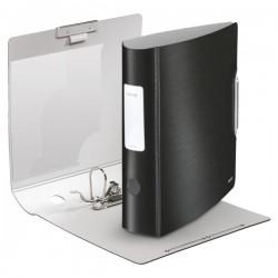 Biblioraft LEITZ Active Style 180, 75mm, plastic PP - negru satin