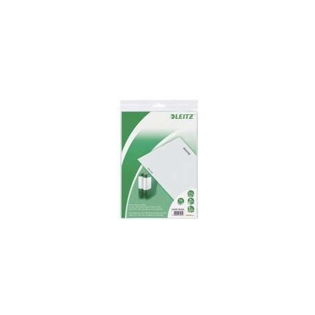 Eticheta printabila pt. biblioraft 80mm, 2/A4, 10coli/set, LEITZ Active Prestige